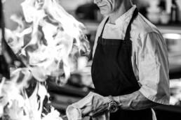 Claremont Hotel Chef at work